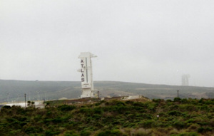 Atlas pad at Vandenberg, July 1996