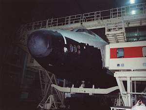 Buran (flew two orbits in 1988)