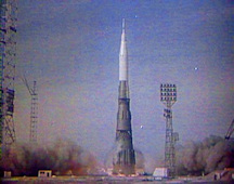 first N-1 launch, July, 1969